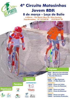 Cartaz prova estrada 8 março final